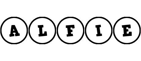 Alfie handy logo