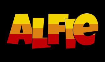 Alfie jungle logo