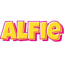 Alfie kaboom logo