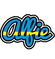 Alfie sweden logo