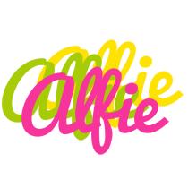 Alfie sweets logo