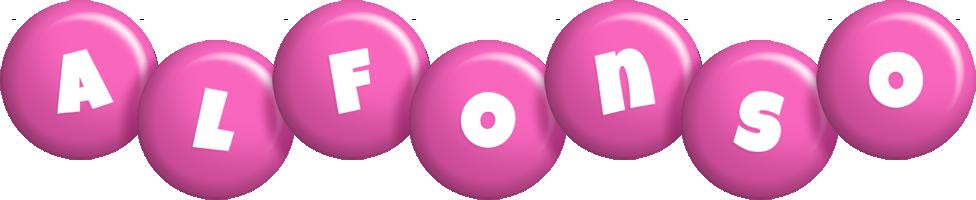 Alfonso candy-pink logo