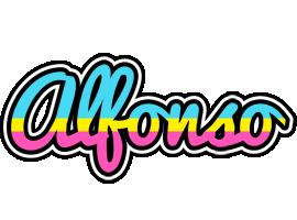 Alfonso circus logo