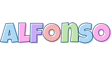 Alfonso pastel logo
