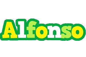 Alfonso soccer logo