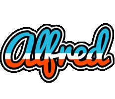 Alfred america logo
