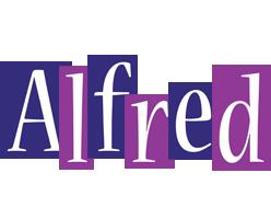 Alfred autumn logo