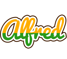 Alfred banana logo