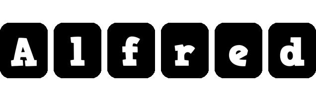 Alfred box logo