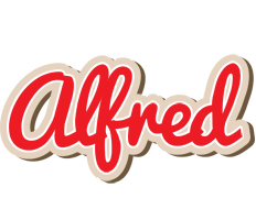 Alfred chocolate logo