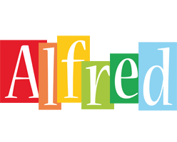 Alfred colors logo