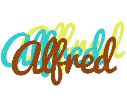 Alfred cupcake logo