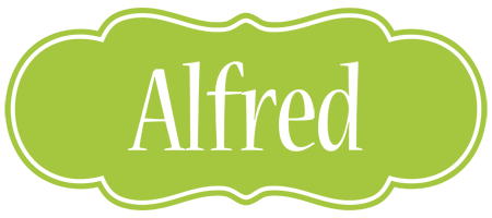 Alfred family logo
