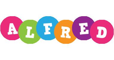 Alfred friends logo