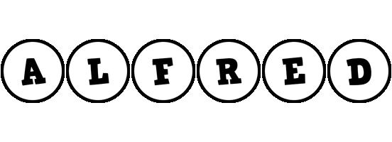 Alfred handy logo