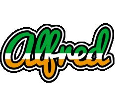 Alfred ireland logo