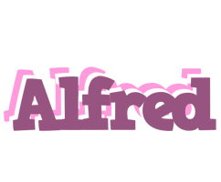 Alfred relaxing logo