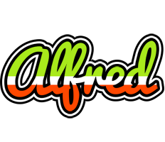Alfred superfun logo