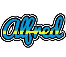 Alfred sweden logo