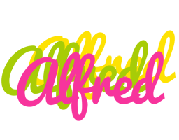 Alfred sweets logo