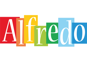 Alfredo colors logo