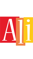 Ali colors logo