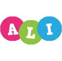 Ali friends logo