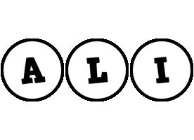 Ali handy logo