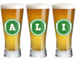 Ali lager logo