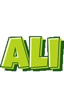 Ali summer logo