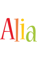 Alia birthday logo