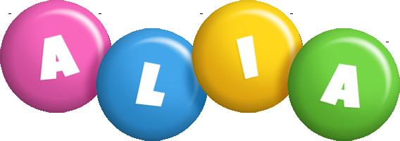 Alia candy logo