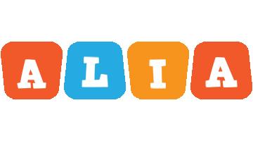 Alia comics logo