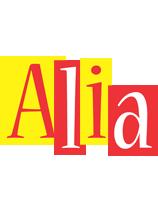 Alia errors logo