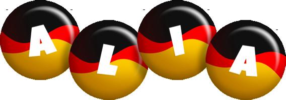 Alia german logo