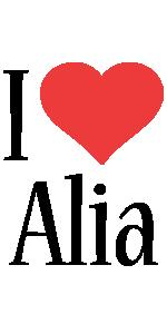 Alia i-love logo
