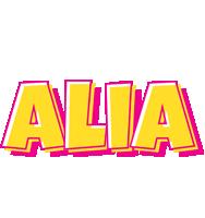 Alia kaboom logo