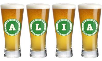 Alia lager logo