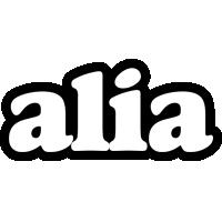 Alia panda logo