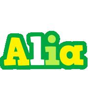 Alia soccer logo