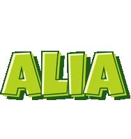 Alia summer logo