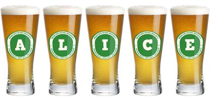 Alice lager logo