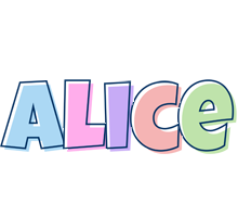 Alice pastel logo