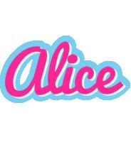 Alice popstar logo