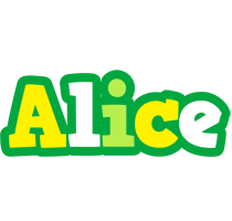 Alice soccer logo