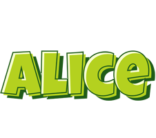 Alice summer logo