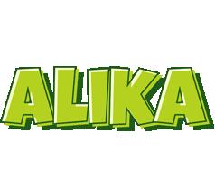 Alika summer logo