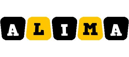Alima boots logo