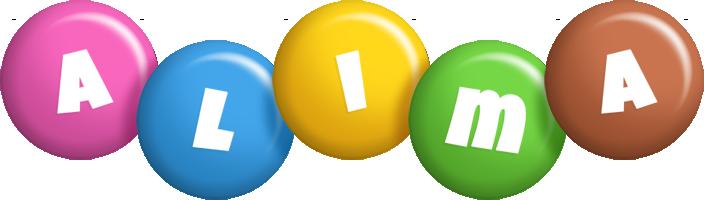Alima candy logo