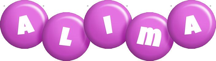 Alima candy-purple logo